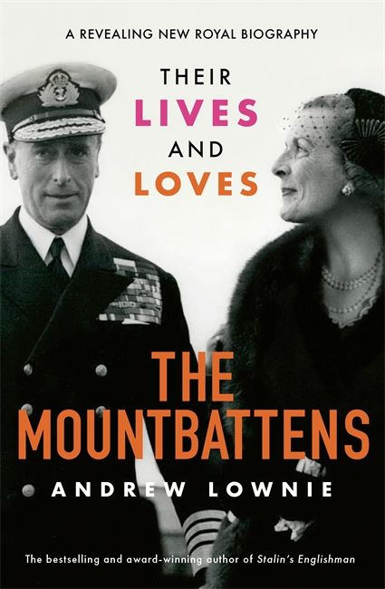 The Mountbattens book cover