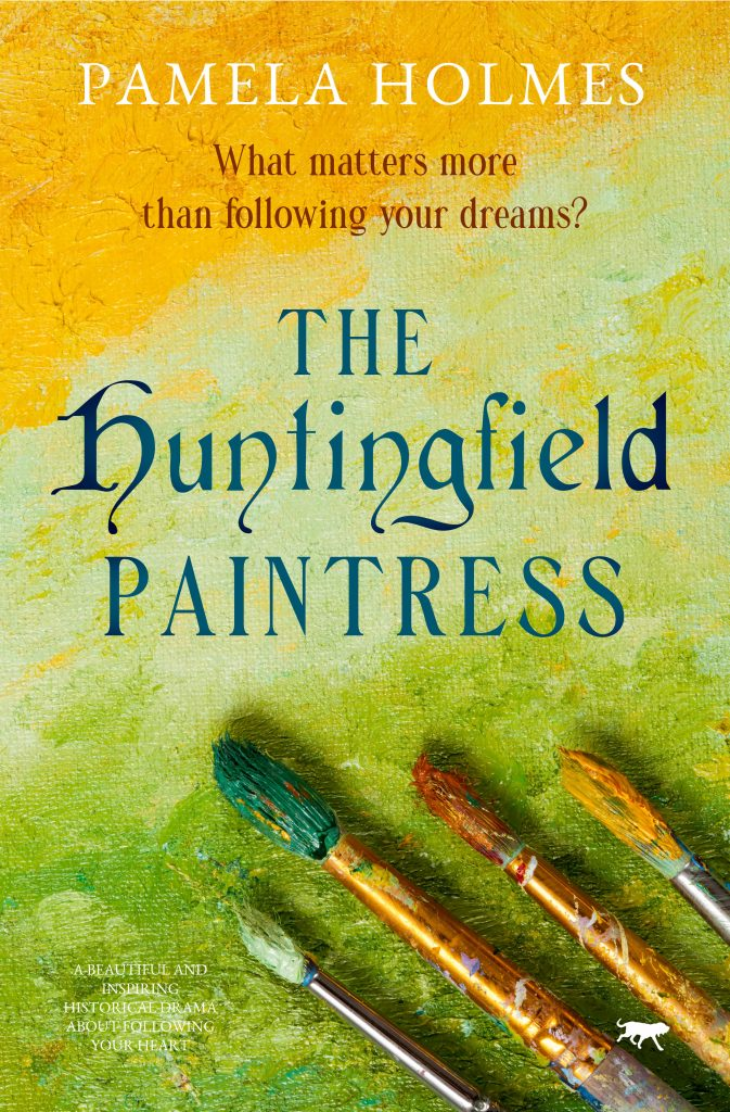 cover of The Huntingfield Paintress by Pamela Holmes