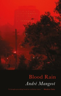 Cover for Blood Rain by André Mangeot